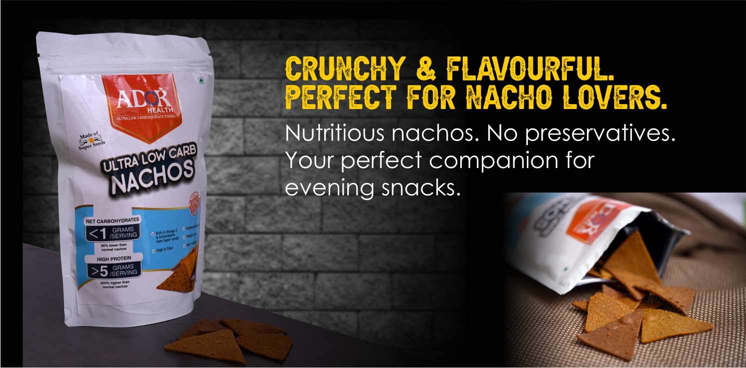 Ultra Low Carb Nacho Chips (190 Gram)