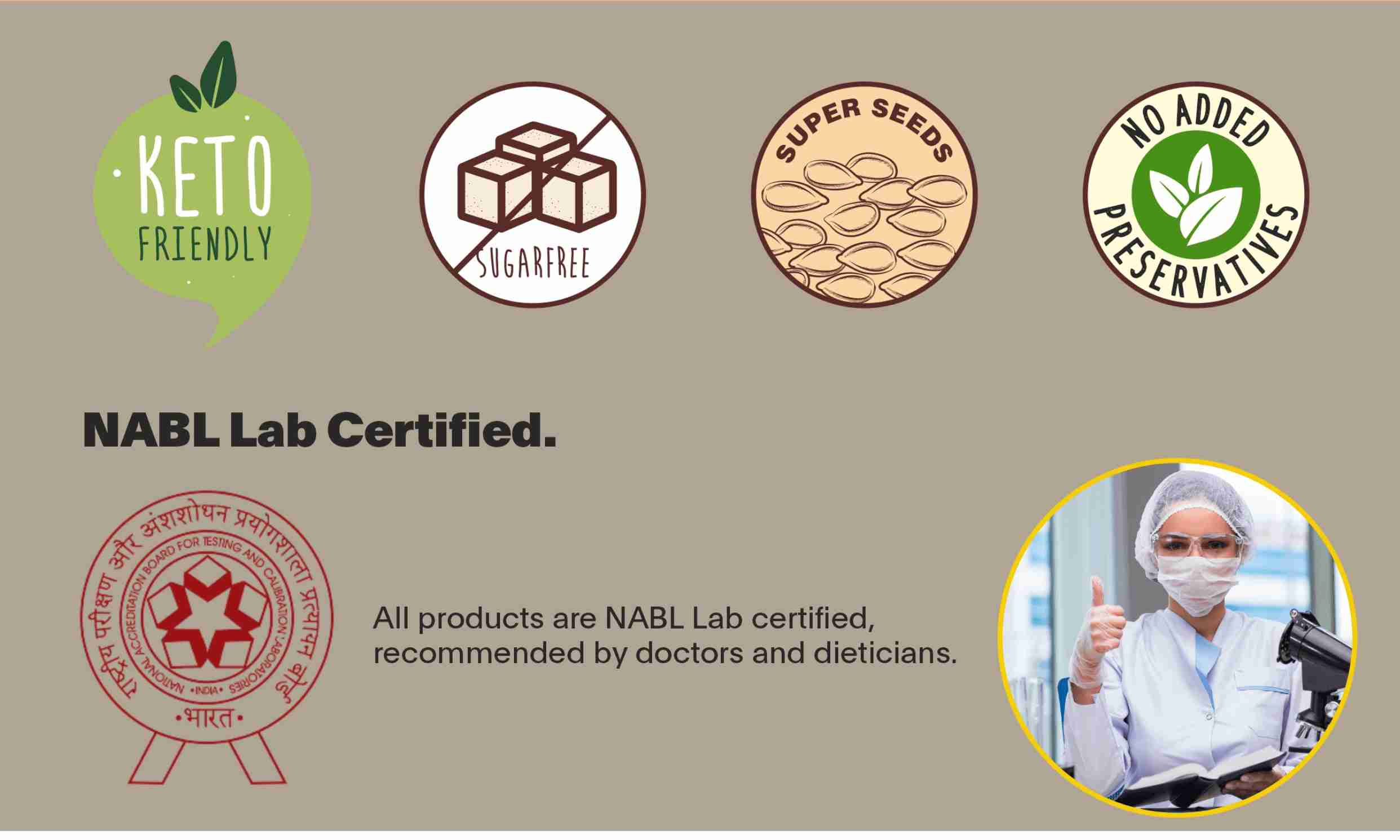 NABL Lab Certified keto Product