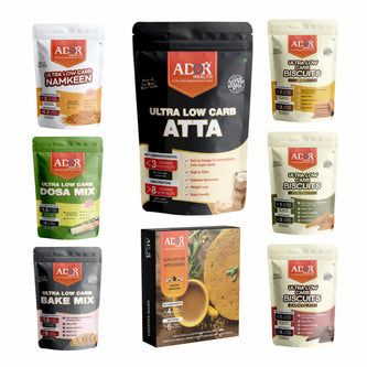 Ultra Low Carb Sampler Pack   Atta   Biscuits   Snacks   Pre- Mix   (Pack of 8)
