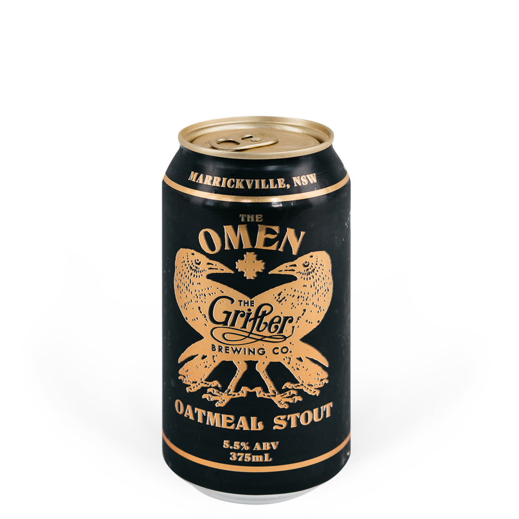 Grifter Brewing Co - Omen Oatmeal Stout (4pk)