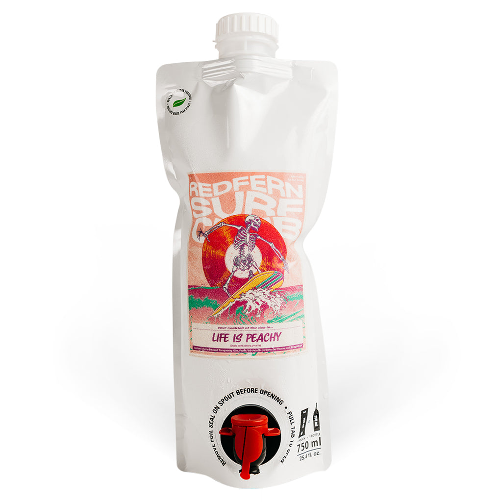 Life is Peachy - Cocktail Party Bag 700ml