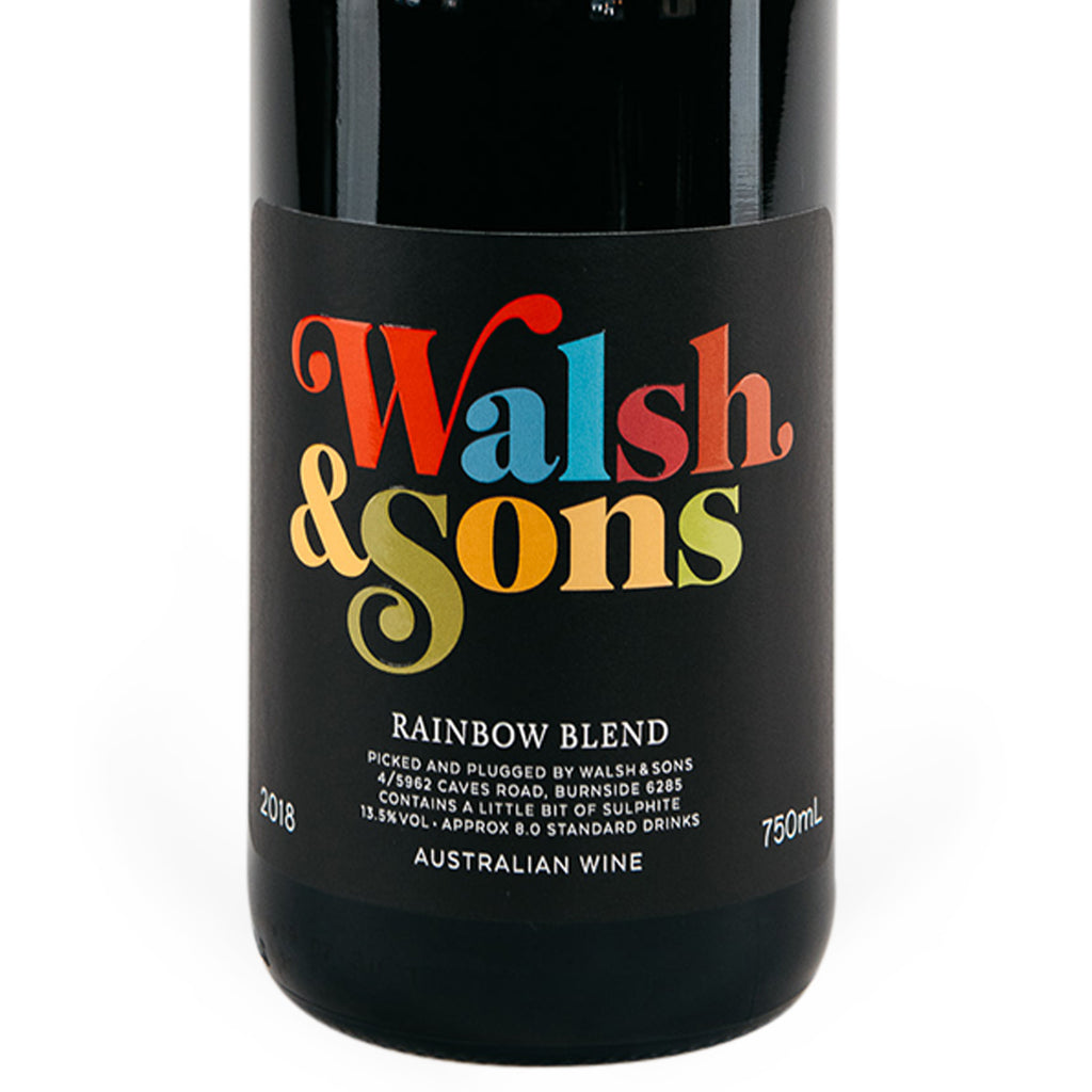 2018 Walsh & Sons Rainbow Red