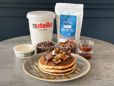 Nutella & Mascarpone Stack Bundle - Home Delivery (Glasgow only)