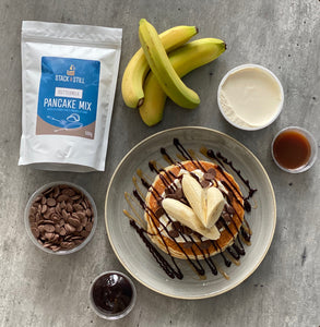 Salted Caramel & Banana Stack Bundle - Home Delivery (Glasgow only)