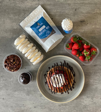 Strawberries & Cream Stack Bundle - Home Delivery (Glasgow only)