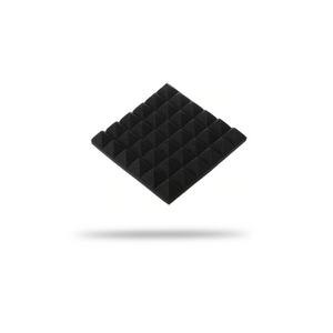 Acoustic Foam Panels - Pyramid - 2 Inches Thick (12x12) - 12/24 Pcs