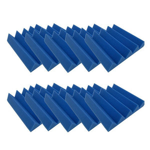 Acoustic Foam Panels - Wedge - 2 Inches Thick - 10 Pcs The Soundproof Store