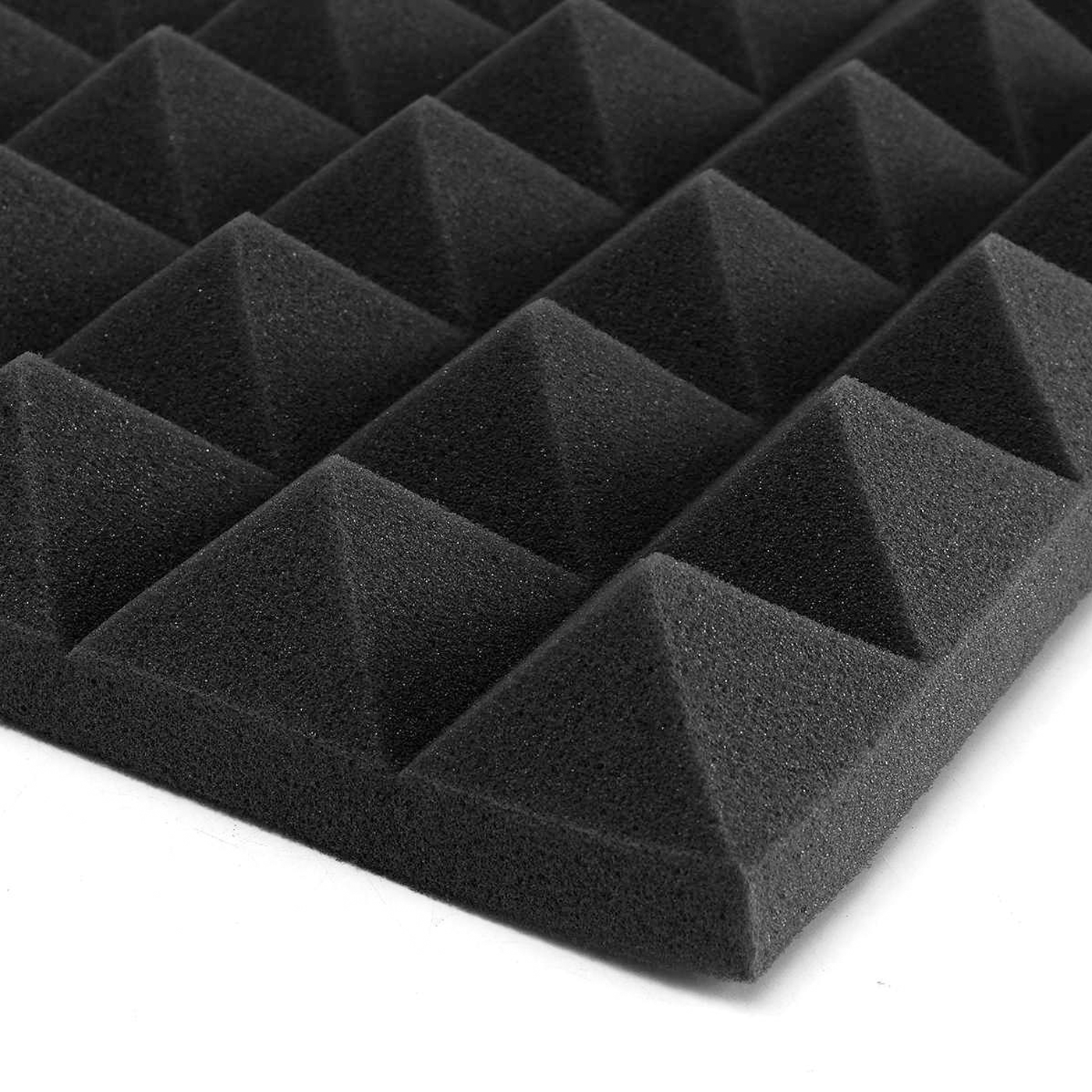 Acoustic Foam Panels - Pyramid - 2 Inches Thick (20x20) - 4 Pcs The Soundproof Store