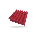 Acoustic Foam Panels - Wedge - 2 Inches Thick - 6 Pcs