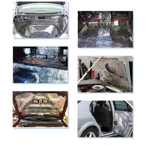 Automotive Sound Deadening Mat (White)