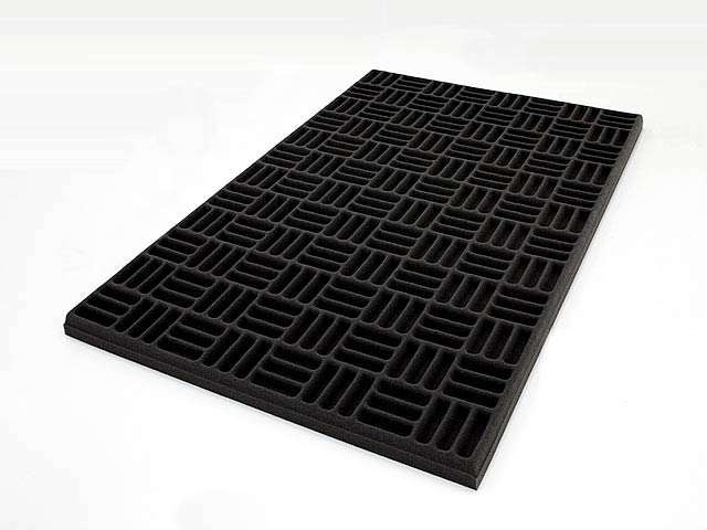 Premium Grid Pattern Acoustic Foam Panel