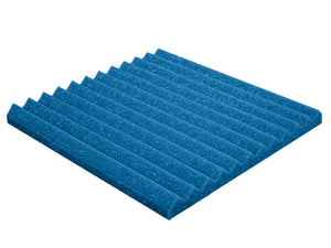 Premium 1 Inch Wedge Acoustic Foam Panel - Colored