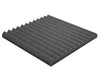 Premium 1 Inch Wedge Acoustic Foam Panel - Charcoal