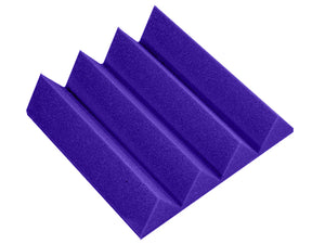 Premium 3 Inch Wedge Acoustic Foam Panel - Colored