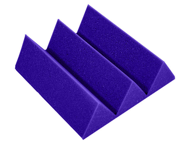 Premium 4 Inch Wedge Acoustic Foam Panel - Colored