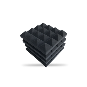 Acoustic Foam Panels - Pyramid - 2 Inches Thick (10x10) The Soundproof Store