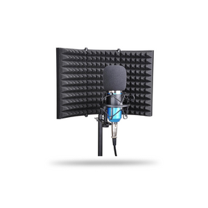 Microphone Isolation Shield (Folding Studio Edition)