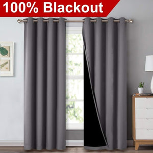 Signature Noise Reducing Blackout Curtain (Hooks)