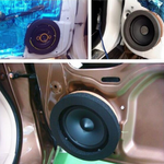Car Door Speaker Bass Ring