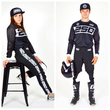 Load image into Gallery viewer, Retro Motocross Pants Black
