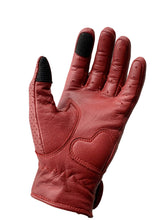 Load image into Gallery viewer, Beetle Gloves w/Knuckle Armor Red
