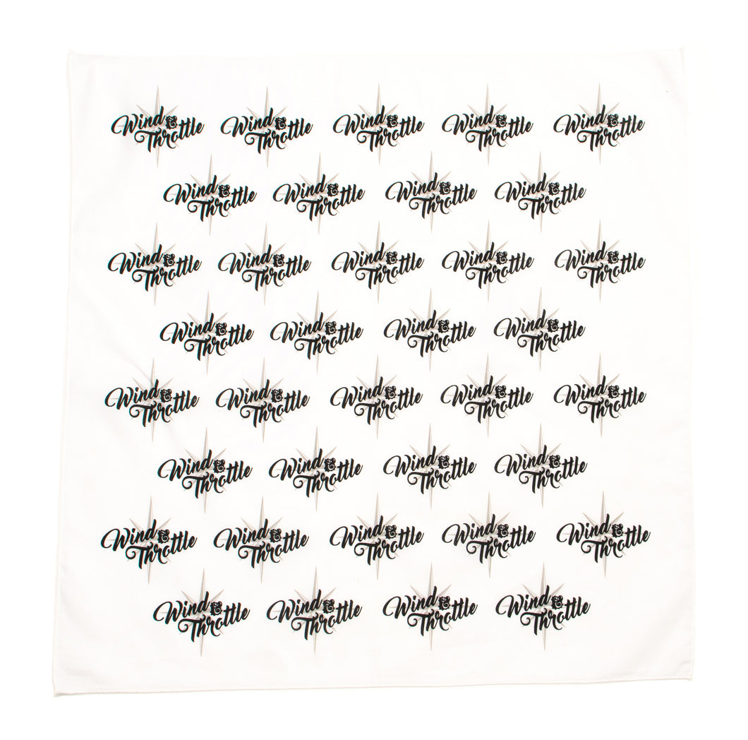 Wind & Throttle Logo Bandana