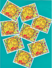 Load image into Gallery viewer, You Are My Sunshine Stickers 3 Pack