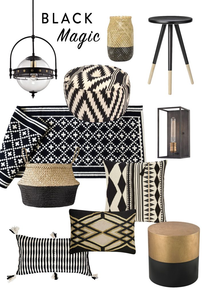 Black Magic - Decorating with Black Accents