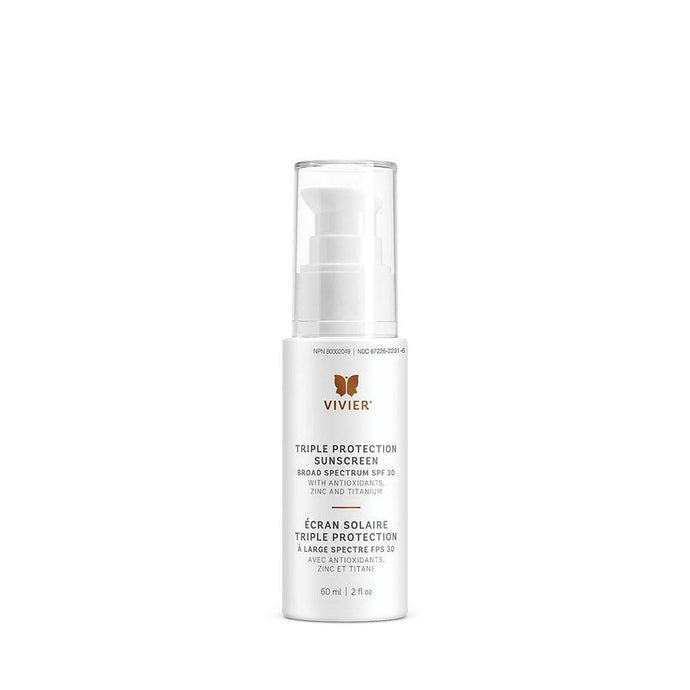 Triple Protection Sunscreen Broad Spectrum SPF 30, 60ml