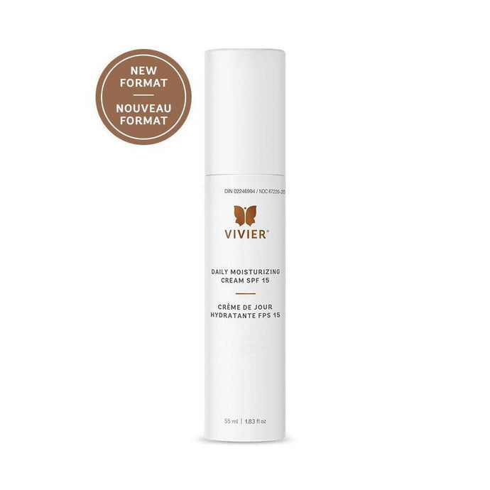 Daily Moisturizing Cream with SPF 15, 55ml