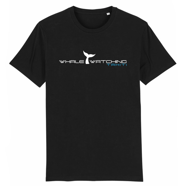 Whale Watching Tahiti T shirt noir homme