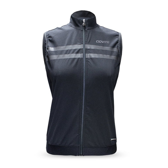 Ciovita Ladies Faro Reflective Gilet Black