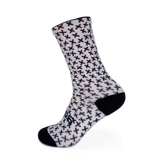 Sox Monochrome Cross Socks