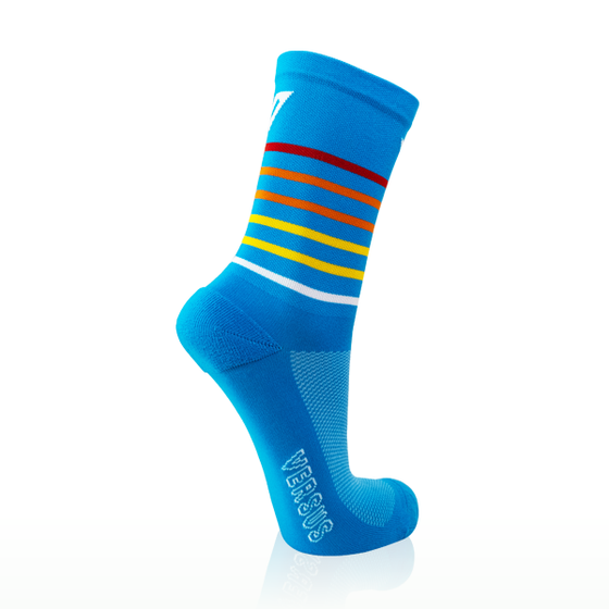 Versus Blue Sunrise Socks