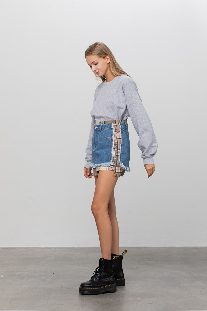 Why Not Blend Mini Skirt