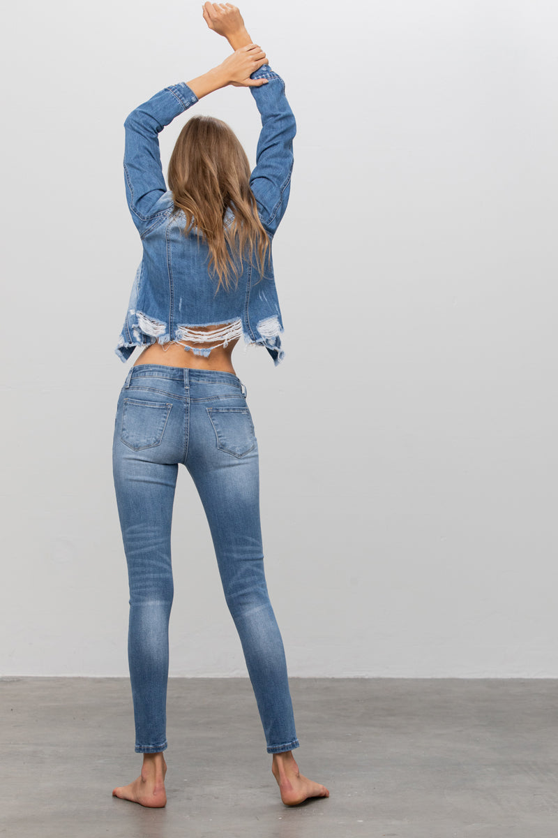 Ever Blue Flagship Ankle Skinny