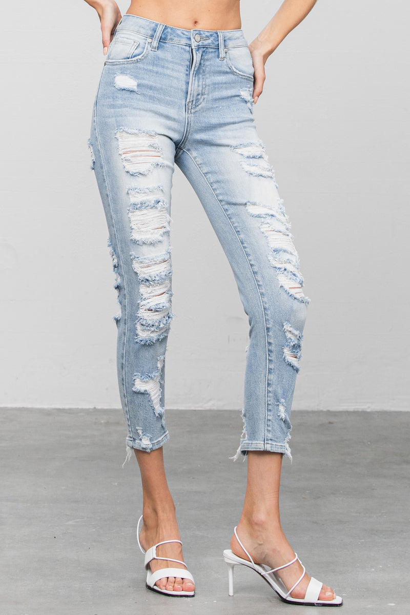 Ruby High Rise Relaxed Skinny Jeans