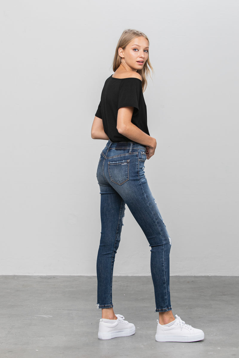 Youknow Ankle Skinny Jeans - Insanegene.com