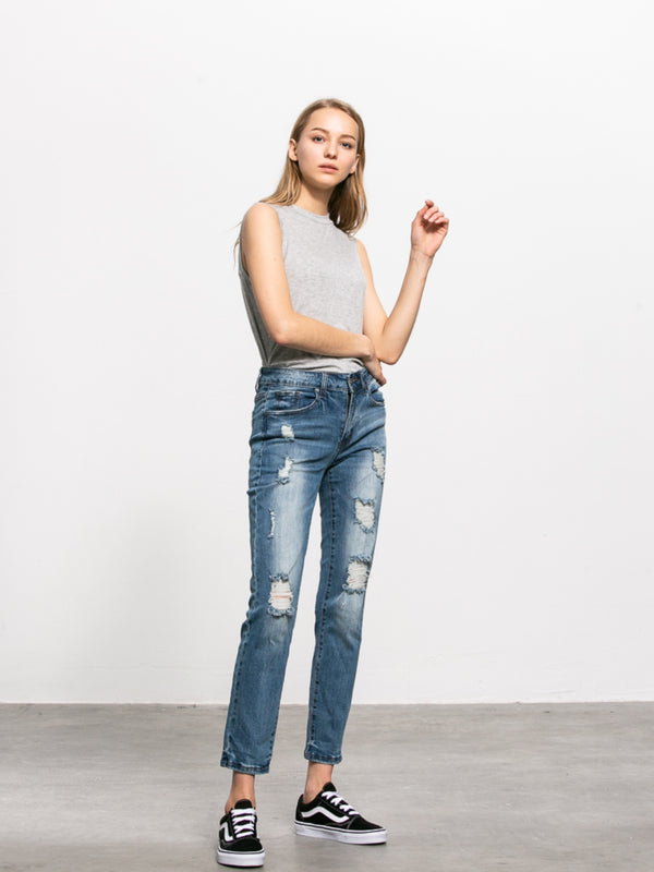 Julie Wide Jeans - Insanegene.com
