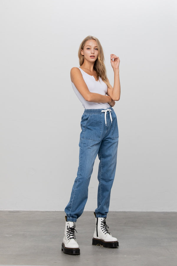 Home Alone Denim Jogger Pants - Insanegene.com