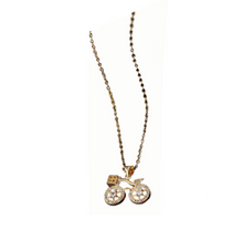 Load image into Gallery viewer, 2-Wheeler Necklace