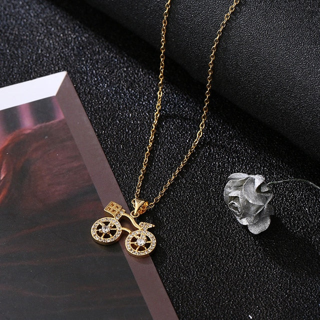 2-Wheeler Necklace