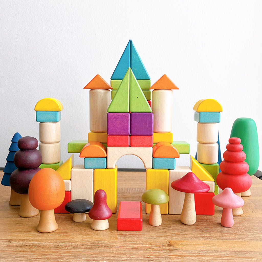Benefits of Playing With Building Blocks