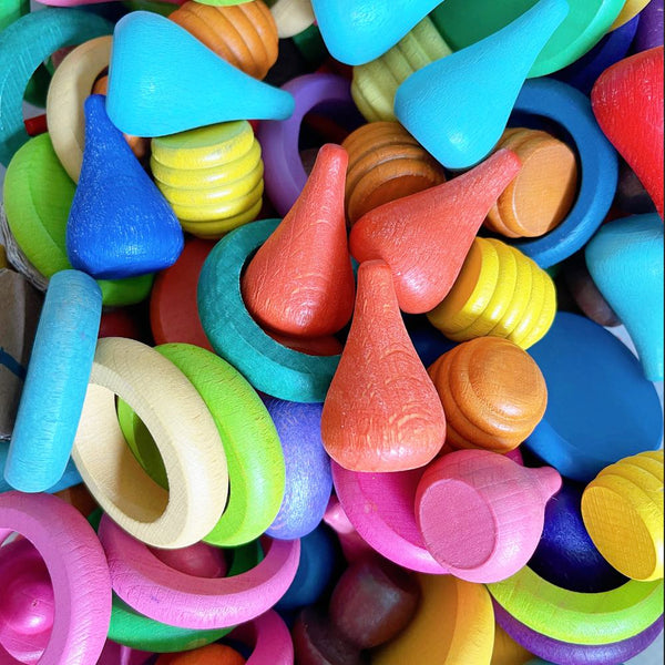 Wooden Loose Parts Play - Our Little Treasures