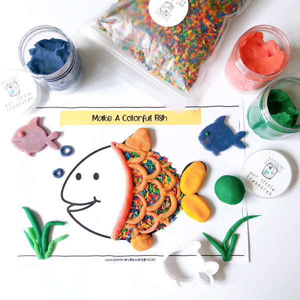 Under The Sea Play Dough Activities