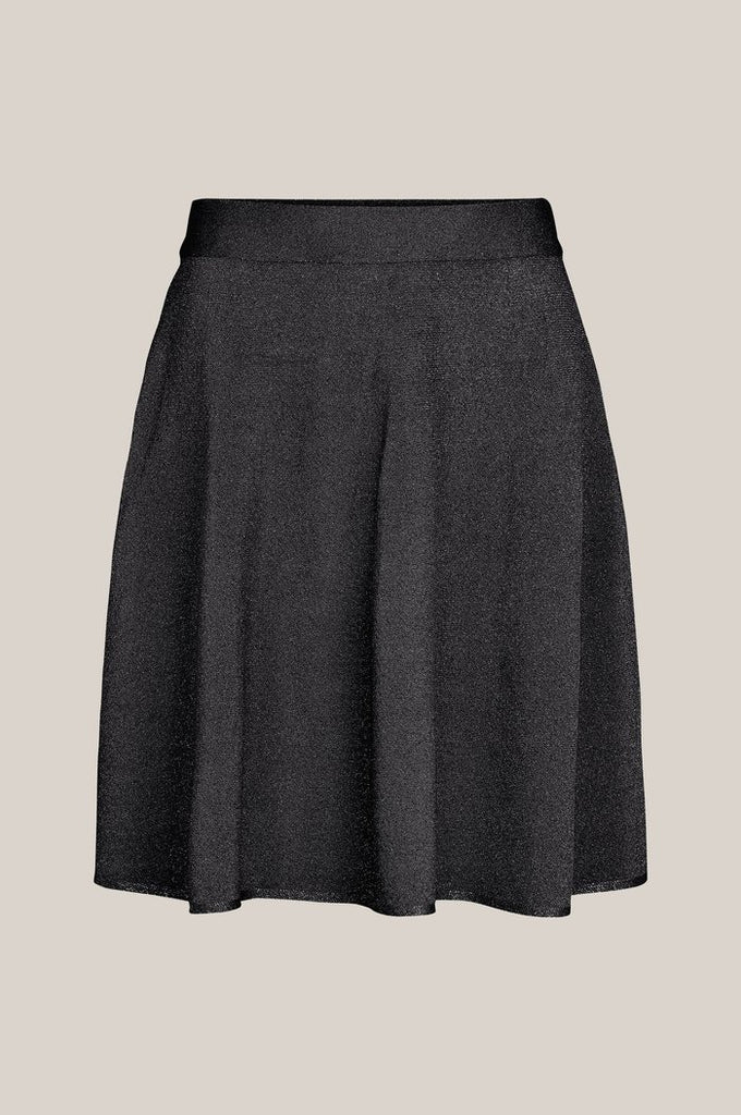 Lea Knit Skirt, Black