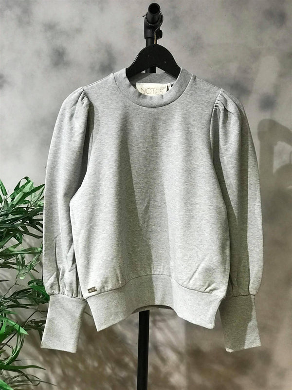 Oxford Sweatshirt, Lt grey