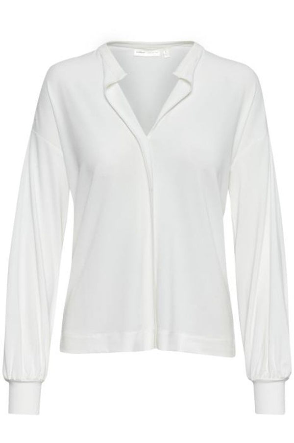 OriitllW Blouse, White Smoke