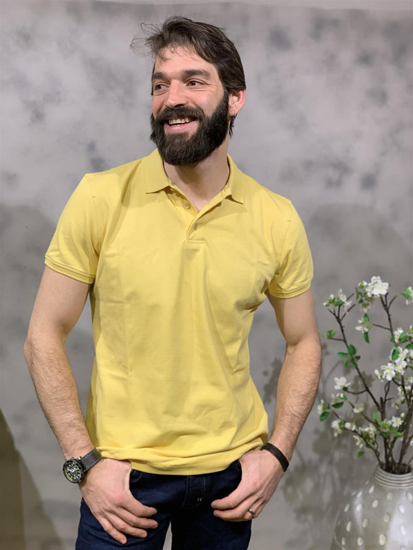 Classic Polo Stretch, Yellow