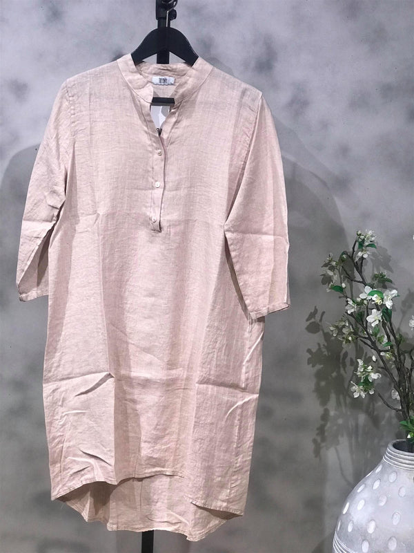 Shirt/ Dress Linen Rose